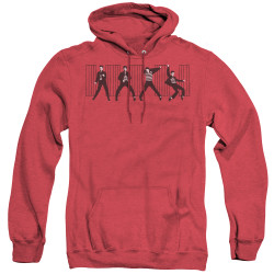 Image for Elvis Heather Hoodie - Jailhouse Rock