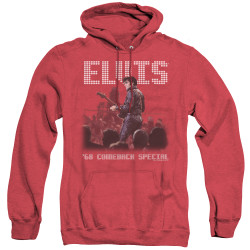 Image for Elvis Heather Hoodie - Return of the King