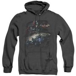 Image for Batman Arkham Knight Heather Hoodie - Knight Rider