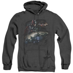 Image for Batman Arkham Knight Heather Hoodie - Knight Rider