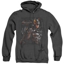 Image for Batman Arkham Knight Heather Hoodie - Dark Knight