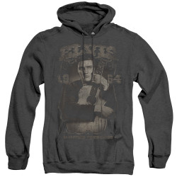 Image for Elvis Heather Hoodie - 1954