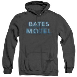 Image for Bates Motel Heather Hoodie - Sign Logo