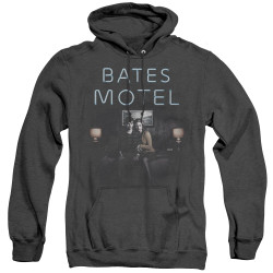 Image for Bates Motel Heather Hoodie - Motel Room