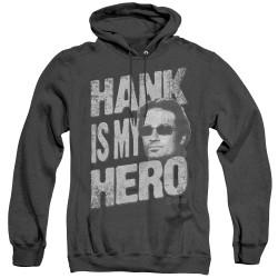 Image for Californication Heather Hoodie - Hank is my Hero