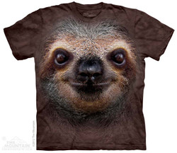 Image for The Mountain T-Shirt - Sloth Face