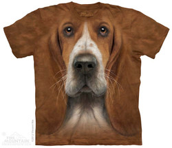 Image for The Mountain T-Shirt - Basset Hound