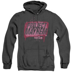 Image for Fight Club Heather Hoodie - Project Mayhem