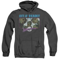 Image for Galaxy Quest Heather Hoodie - Cute but Deadly