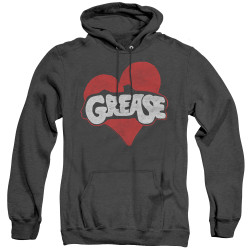 Image for Grease Heather Hoodie - Heart