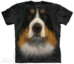 Image for The Mountain T-Shirt - Bernese Mountain Dog