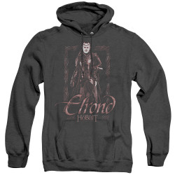 Image for The Hobbit Heather Hoodie - Elrond Stare
