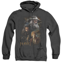 Image for The Hobbit Heather Hoodie - Painting