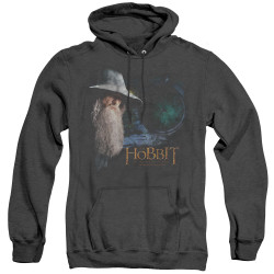 Image for The Hobbit Heather Hoodie - The Door