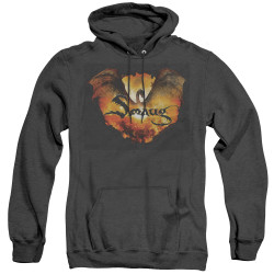 Image for The Hobbit Heather Hoodie - Reign in Flame