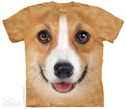 Image for The Mountain T-Shirt - Corgi Face