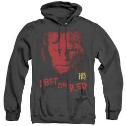Image for Hellboy II Heather Hoodie - Bet on Red