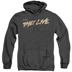 Image for They Live Heather Hoodie - Glasses Logo