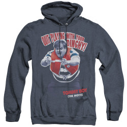 Image for Tommy Boy Heather Hoodie - Dinghy