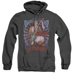 Image for Up In Smoke Heather Hoodie - Pantyhose