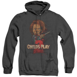 Image for Child's Play Heather Hoodie - Here's Chucky