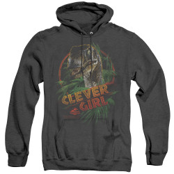 Image for Jurassic Park Heather Hoodie - Clever Girl