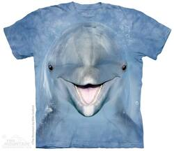 Image for The Mountain T-Shirt - Dolphin Face