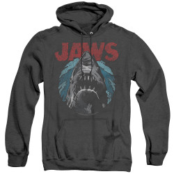 Image for Jaws Heather Hoodie - Water Circle