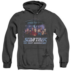 Image for Star Trek the Next Generation Heather Hoodie - Space Group