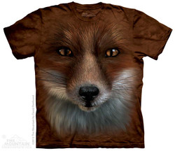 Image for The Mountain T-Shirt - Big Face Fox