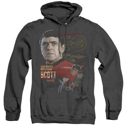 Image for Star Trek Heather Hoodie - Chief Engineer Scott