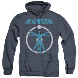 Image for The Watchmen Heather Hoodie - Anatomy