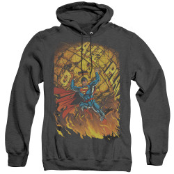 Image for Superman Heather Hoodie - Daily Planet Save