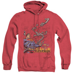 Image for Superman Heather Hoodie - Breaking Chains