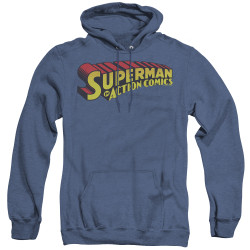 Image for Superman Heather Hoodie - Superman In