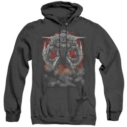 Image for Superman Heather Hoodie - Doomsday Dust