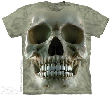 Image for The Mountain T-Shirt - Big Face Skull
