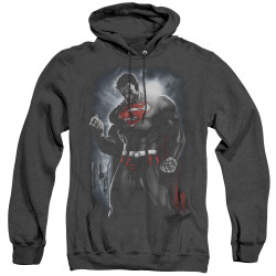 Image for Superman Heather Hoodie - Light Of The Sun