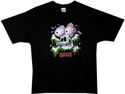 Image Closeup for Rat Fink Rat Skull T-Shirt