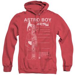 Image for Astro Boy Heather Hoodie - Schematics