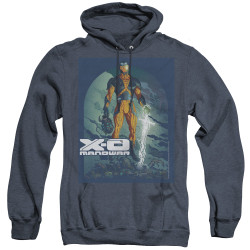 Image for X-O Manowar Heather Hoodie - Planet Death