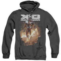 Image for X-O Manowar Heather Hoodie - Lightning Sword
