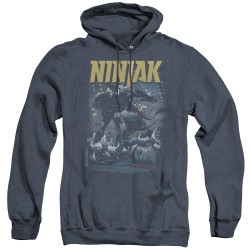 Image for Ninjak Heather Hoodie - Rainy Night