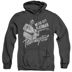Image for Ted Nugent Heather Hoodie - Madman