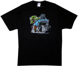 Image Closeup for Rat Fink Octane Chevy T-Shirt
