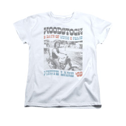 Image for Woodstock Woman's T-Shirt - Rider