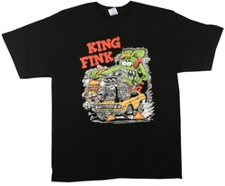 Rat Fink King Fink T-Shirt Image 2
