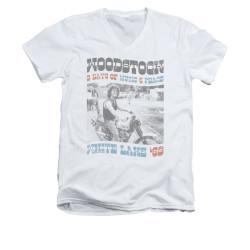 Image for Woodstock V-Neck T-Shirt Rider