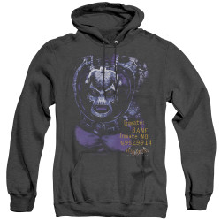 Image for Batman Arkham Asylum Heather Hoodie - Arkham Bane