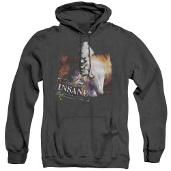 Image for Arkham City Heather Hoodie - Certified Insane